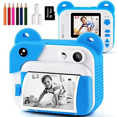 Instant Print Kids Camera