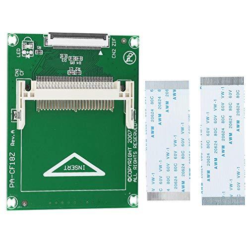 Cf To Zif/Ce, Cf Adapterkarte, mit 2 Zif-Kabeln für alle Cf-Karten Typ I, Ii und Microdrive