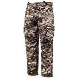 Huntworth Men's Heavy Weight Windproof Soft Shell Hunting Pants (Tarnen Camo, 2X-Large)