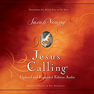 Jesus Calling Updated and Expanded audiobook cover art