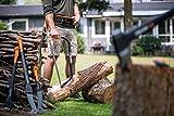 Fiskars Bügelsäge mit feststehendem Blatt für feuchtes Holz, Länge: 61 cm (24 Zoll), Inklusive Sägeblattschutz, Hochwertiger Stahl, Schwarz/Orange, SW31, 1000615 - 5