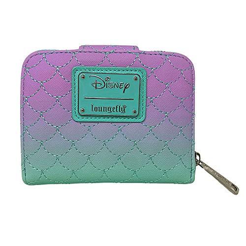 Loungefly Disney Little Mermaid Ariel Dinglehopper Scales Wallet