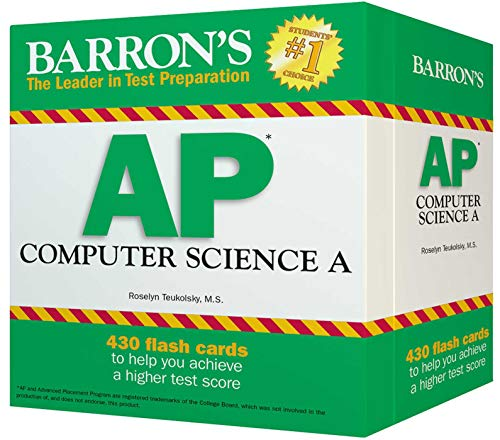 AP Computer Science A Flash Cards