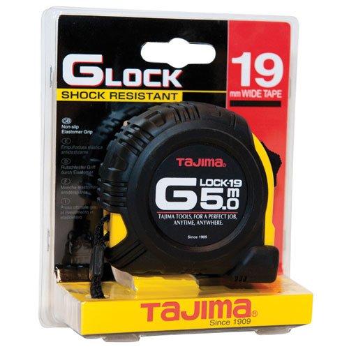 Tajima G9P50MY Metermaß, Antischock, 0.1 W, 0.4 V, schwarz, 5 m x 19 mm