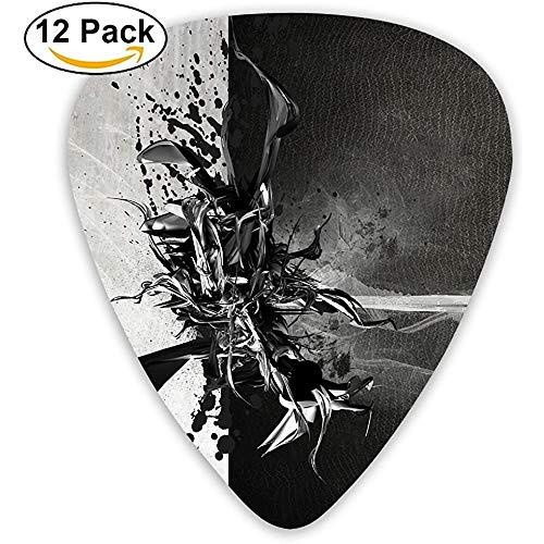 Fashion Classic E-Gitarren Picks Gitarren Picks Fantasy Pattern Instrument Standard Bassgitarrist-F6-F1