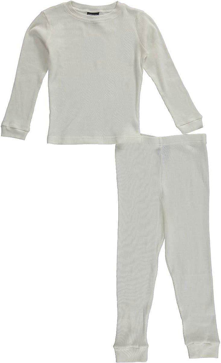 American Hero Big Boys' 2-Piece Thermal Underwear Set - Ivory, 14-16