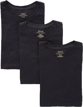 Polo Ralph Lauren Men's Classic Crew Neck Undershirts 3-Pack
