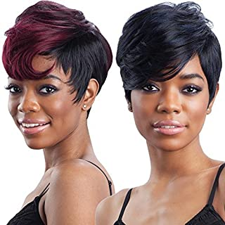 FreeTress Equal Synthetic Hair Wig - CHARLIE (1 - Jet Black)