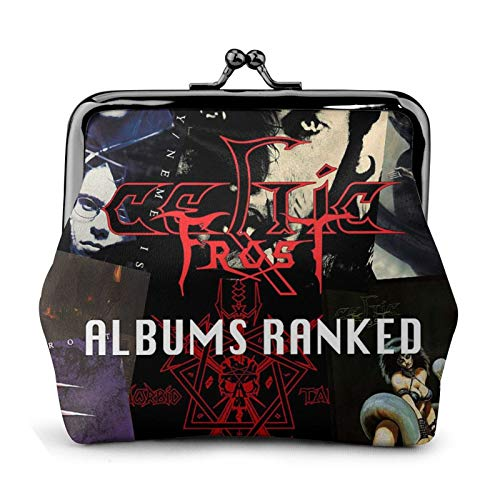 Celtic Frost Women'S Wallet Fashion Funny Pu Leather Wallet Buckle Coin Purses Vintage Classic Kiss-lock Change Wallets,Travel bag Makeup Wallets