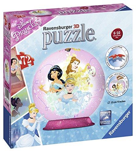 Ravensburger Puzzle 3d 11809Disney Princess , color, modelo surtido