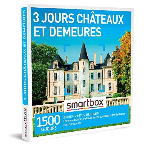 Coffret Smartbox 3 jours châteaux et demeures