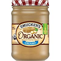 Smucker's Organic Creamy Peanut Butter, 16 Ounces