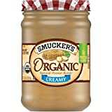 Smucker's Organic Natural Creamy Peanut Butter, 16 Ounces