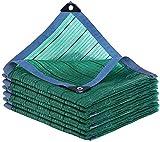 Zairmb Tessuto Riflettente all'ombra 90% Verde reticolato all'ombra Resistente ai Raggi UV...