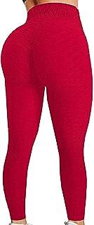 JGS1996 Women`s High Waist Yoga Pants Tummy Control Slimming Booty Leggings Workout Running Butt Lift Tights