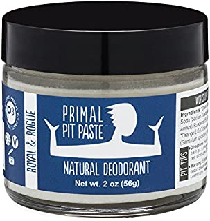 Primal Pit Paste All-Natural Deodorant - Aluminum & Paraben Free - Royal & Rogue Deodorant Jar