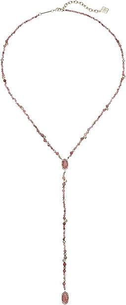 Gold/Pink Unbanded Rhodonite
