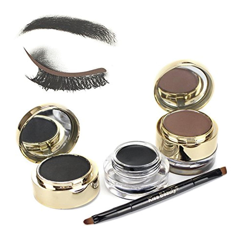 不条理蒸発アグネスグレイ二重色の化粧品の粉の煙のようなアイシャドウパレットの構造の一定の目