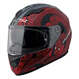 LS2 Stream Snake Full Face Motorcycle Helmet With Sunshield...