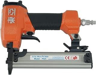 Dongya P625 Power Pin Nailer - 23 Gauge 3/8-inch to 1-inch leg Micro Pinner Headless Pinner