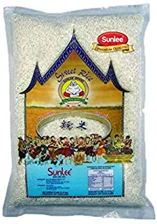 Sponsored Ad - Sunlee Thai Sweet Rice - Premium Sticky Rice for Desserts or Rice Cakes, Great for Gluten-Free Diets, 5 Pou...