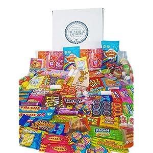 bumbledukes ultimate sweets & chocolate hamper - british sweets selection box - 100+ contemporary & retro sweets Bumbledukes Ultimate Sweets & Candy Hamper – 100+ Contemporary & Retro British Sweets Selection Box 51bXmgt7ztL