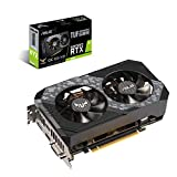 ASUS TUF-RTX2060-O6G-GAMING GeForce RTX 2060 6 GB GDDR6 - Tarjeta gráfica (GeForce RTX 2060, 6 GB, GDDR6, 192 bit, 7680 x 4320 Pixeles, PCI Express 3.0)