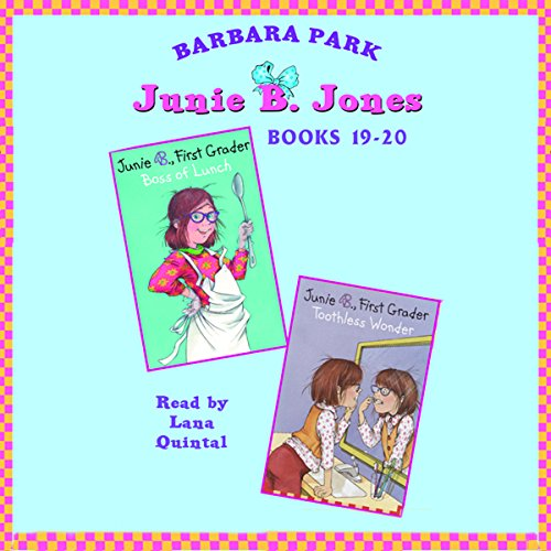 Junie B. Jones: Books 19-20 audiobook cover art