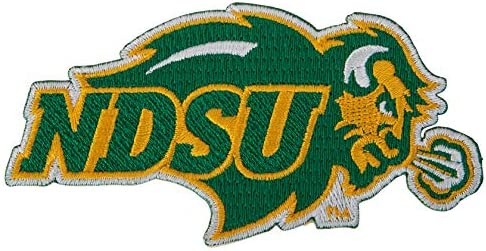 North Dakota State University Patch Embroidered Appliqu Patch Sew or Iron On Blazer Jacket Bag product image