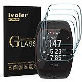 ivoler [4 Unidades] Protector de Pantalla para Polar M400 / M430, Cristal Vidrio Templado Premium