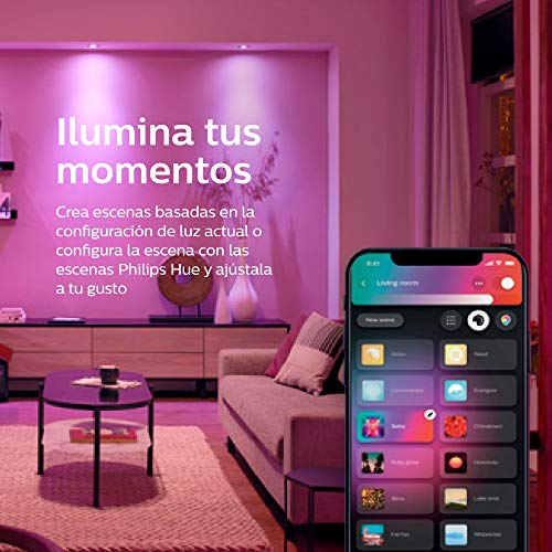 Philips Hue Go White and Color Portable Dimmable LED Smart Light Table Lamp (Requires Hue Hub, Works with Alexa, HomeKit and Google Assistant) 8