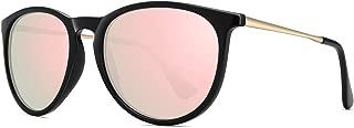 WOWSUN Polarized Sunglasses for Women Vintage Retro Round...