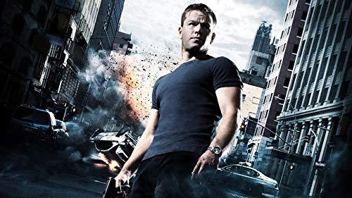 Firefly Arts Jason Bourne 107cm x 60cm 43Zoll x 24Zoll Poster auf Seide - Kunstdrucke