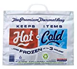 Hot Cold Bag | Insulated Thermal Cooler, Lunch Size, Pack of 5