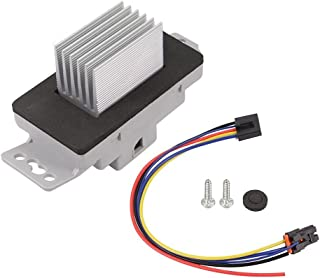 HVAC Blower Motor Resistor Kit With Plug Harness For 15-81727, 15827491, 89018778 Chevrolet Chevy Monte Carlo 04-07 Impala...