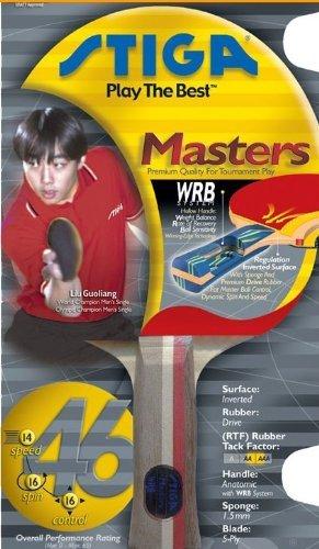 Stiga Masters Two Star Table Tennis Bat