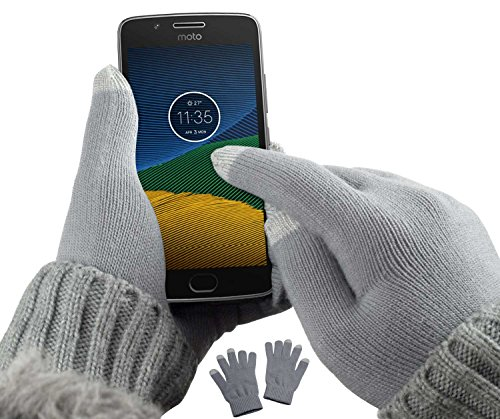 yayago Touchscreen Handschuhe kapazitiv Universalgröße (ca. M – L) – für Lenovo Motorola Moto G5