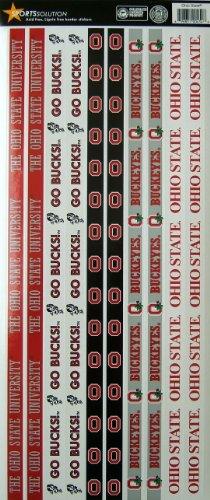 Sports Solution Ohio State Buckeyes Border Sticker