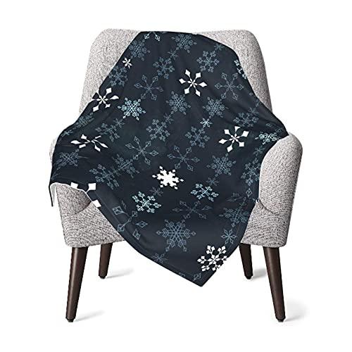 Manta de bebé Copo de Nieve Cadena de Cristal Suave y cálida Mantas de Tiro para niños Niñas Recién Nacido 76X102CM