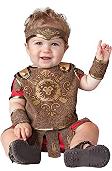 InCharacter Baby Gladiator Infant Costume Small  6-12  Brown