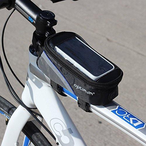 Optimum Men's Hawkley Cycling Phone Bag, Black, One Size