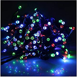 IMAGE 22m 72ft Solar Power 200 LED String Fairy Light Bulb Outdoor Xmas Wedding Party Multicolor