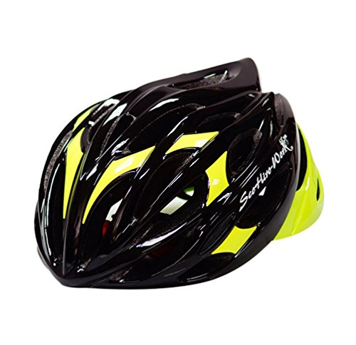 Dooxi Adulto Hombres Mujeres Bicicleta de Montaña Casco de Ciclismo La Seguridad Al Aire Libre Multiuso Cascos 54-58cm