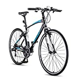 Adult Mountain Bike,21-Speed Road Bicycle,700C...