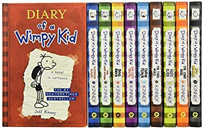 Diary of a Wimpy Kid Box of Books (Books 1-10) from Harry N. Abrams