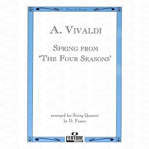 FRUEHLING (4 JAHRESZEITEN) - arrangiert für Streicher - Quartett [Noten/Sheetmusic] Komponist : VIVALDI ANTONIO