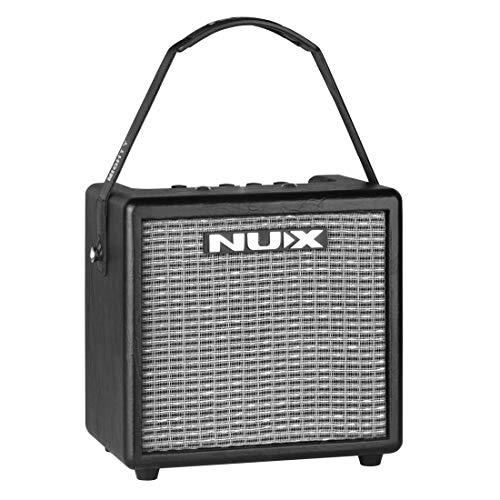 Top 5 best guitar amps - NUX Mighty 8BT 8Watt portable electric guitar amplifier
