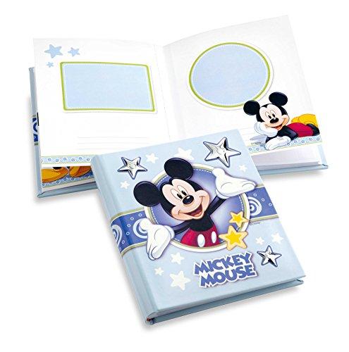 Disney Mickey Mouse dagboek voor foto, voor doop, pasgeborenen of verjaardag