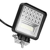 C-FUNN Ip68 48W 42Led 3360Lm Lavoro Luce Combo Lampada Drl Fari per Moto/Auto/Camion/SUV...