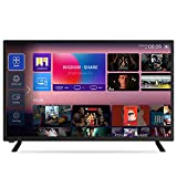 KONDOON Smart TV 32 Zoll Android FHD 3 HDMI 2 USB Dolby Audio USB Media
